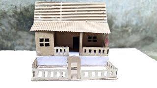 How to make a Awesome Cardboard house|| how to make Cardboard house -DIY