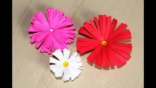 DIY - How To Make Beautiful Paper Flowers || Easy Origami Flowers for  Beginners Making