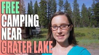Free Camping Near Crater Lake - Fremont Winema National Forest 3689 - Campsite Review