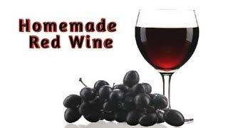 Wine receipe at home/how to make red wine in tamil