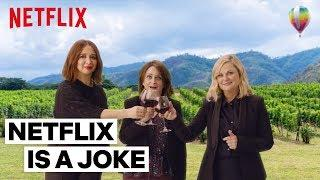 Amy Poehler and the Cast Visit Wine Country | Wine Country | Netflix