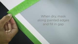 How to create patterns with paint - Geometric & Polka Dots - Valspar Paint