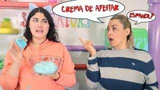 MAKING SLIME IN SPANISH CHALLENGE! Slimeatory #557