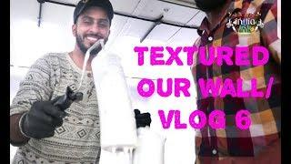 Painting wall on our own/ VLOG 6