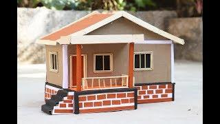 how to make a simple diy house for your kids school project