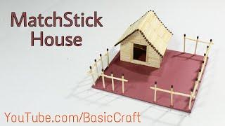 How To Make A Matchstick House | Best Out Of Waste | Matchstick Craft Idea | Best Craft Idea