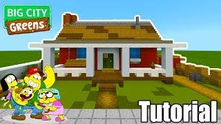 "Minecraft Tutorial: How To Make The Greens House ""Big City Greens"""