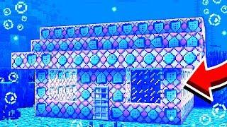 UNDERWATER COMMAND BLOCK MINECRAFT HOUSE! *EASY*