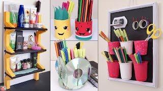 10 Genius DIYs ... Create Space In SMALL HOUSE || Organization Ideas !!!