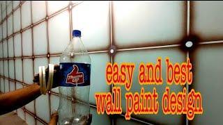 Easy wall paint Spray paint art Nazim rajput