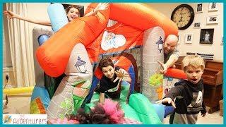 Family Fun Last To Leave Bounce House Wins! / That YouTub3 Family I Family Channel