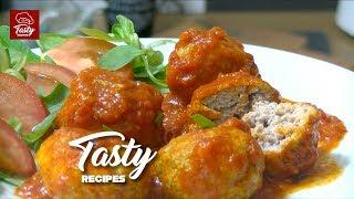 How to make a delicious Homemade Meatballs with meat | Recipe step by step | @TastyRecipesTonio