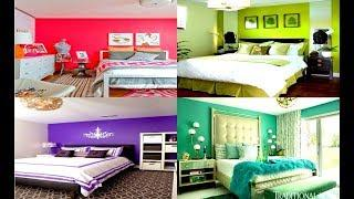 BEDROOM COLOR COMBINATION IDEAS | Top 100 Painting Colour Combination For Room Walls 2019