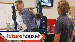 Future House Extras   Space Gym