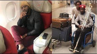 Bebe Cool goes to America to visit Bad Bobi wine in Hospital