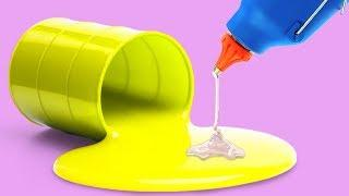 25 PAINTING TRICKS FOR CHILDREN AND PARENTS