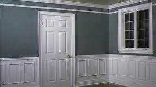 Room Decoration How to Install Drywall, Molding, How to Paint a Wall, How to install wallpaper