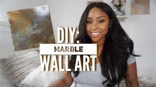 Marble Decor! | DIY WALL ART