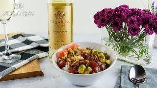 Stella Rosa® Presents: Shaka Tuna Poke | Food & Wine Pairing | How To Recipe