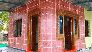 ASIAN PAINTS ON FRONT  WALL HOME TILSE DESIGN