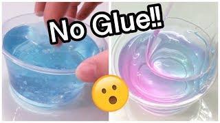 VIRAL No Glue Slime Recipes Tested!!