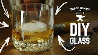 DIY Glass for whiskey - Cut a Glass Bottle In 3 Simple Steps