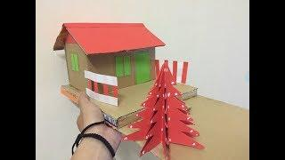 How to make house with cardboard very easy - Mr Simple