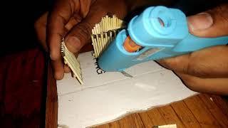 how to make a matches house इतना आसान है माचिस का घर बनाना