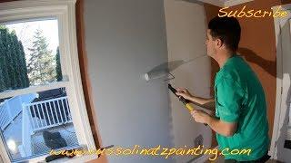 How to Prime and Paint Large Drywall Repair (Part 1)