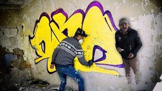 Painting GRAFFITI with GHOST'S (*I almost sh*t myself)