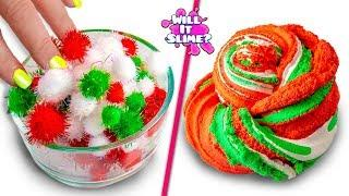ADDING TOO MUCH INGREDIENTS TO SLIME! CHRISTMAS SLIME! Adding Too Much Of Everything!