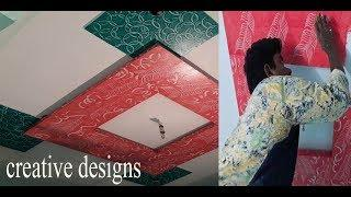 Wall Painting Designs with out tools latest royalplay asian paints