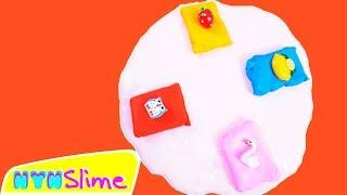 MIXING CLAYS TO BASIC SLIME TO MAKE BUTTER SLIME / NYN SLIME