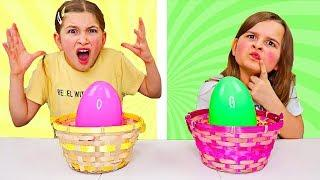 Easter Basket SLIME Switch Up Challenge!! | JKrew