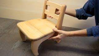 #Amazing Techniques Japanese Carpenters Making A Kid's Chairs Homemade Skills Fastest - Woodworking