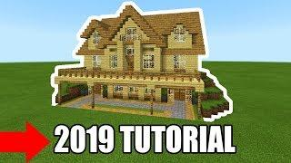 Minecraft Tutorial: How To Make A Ultimate Wooden Survival House 2019