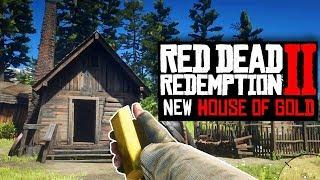 SECRET HOUSE WITH GOLD STASH IN RED DEAD REDEMPTION 2