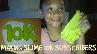 #103 MAKING SLIME 10K SUBSCRIBERS