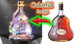 Make a Bed Lamp from Wine Bottle – Paper Magic Top