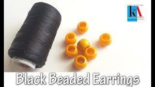 how to make Antique Silk Thread Earrings at home || Daily wear Earrings || Kalpana ambati