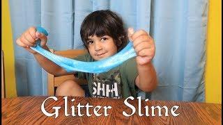 EASY GLITTER SLIME RECIPE
