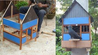 How to make a couple Pigeon House