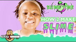 HOW TO MAKE SLIME W/ LAUNDRY DETERGENT & GLUE: SLIMETIME