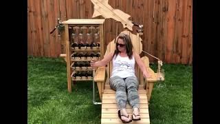The Michigan Wine Chair || ViralHog