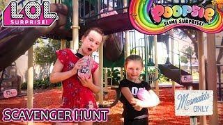 LOL Surprise Under Wraps Poopsie Slime Surprise Scavenger Hunt Series 4 LOL Dolls Park Playground