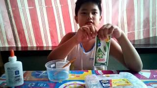 How to make slime  (Filipino Version)