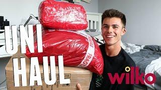 AFFORDABLE UNIVERSITY HAUL! How to Make Your Uni House a Home with wilko | Jack Edwards | AD