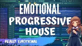How To Make REAL EMOTIONAL PROGRESSIVE HOUSE music - FL Studio