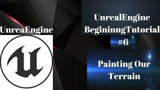 How to paint our terrain? #7 -  UnrealEngineBeginningTutorial