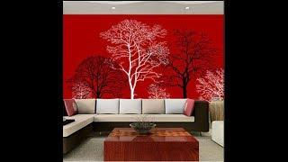 Modern Wall Decor Ideas ! room wallpaper designs